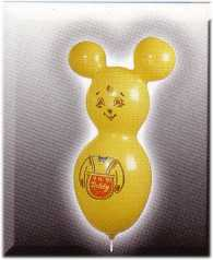 Figurenballon-Teddy