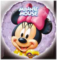 Folienballon-Minnie Mouse
