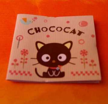 Hello Kitty Stickerbuch Chococat
