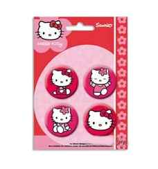 Hello Kitty 4x Ansteckbutton Set