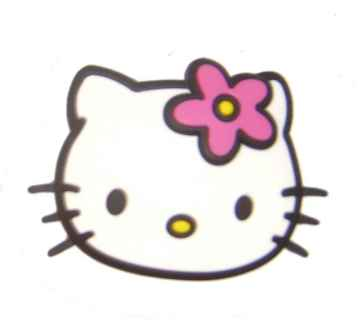 Hello Kitty Magnet Face, pink