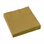 Goldene Hochzeit - Servietten goldfarben