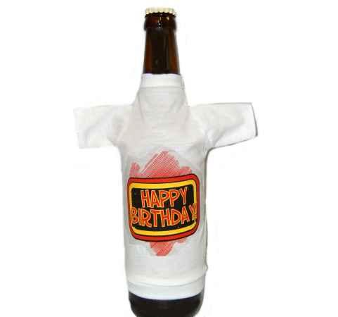 Geburstag - Bierflaschen Shirt