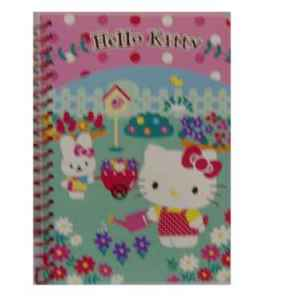 Hello Kitty - Garden Notizblock