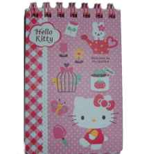 Hello Kitty Notizblock Check