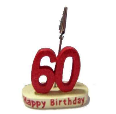Geburtstag Memohalter Zahl 60