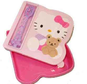 Hello Kitty Sandwichdose Bear