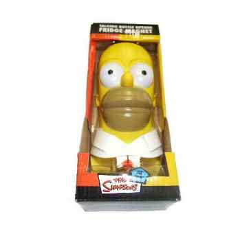 The Simpsons - Homer Wand Flaschen�ffner