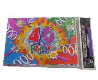 Geburtstag Einladungskarten 40 Party