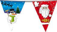 Weihnachtsdeko Wimpel