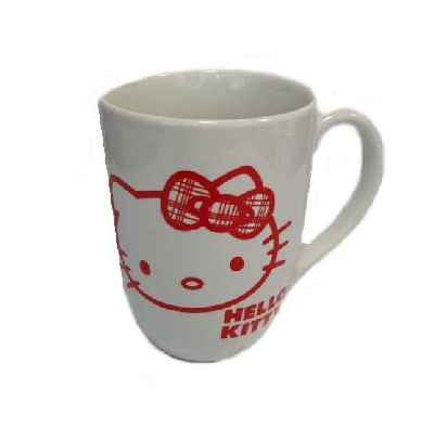 Hello Kitty Kaffeebecher RIBBON WHITE