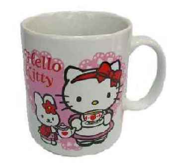 Hello Kitty Kaffeebecher Teatime