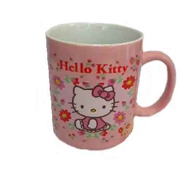Hello Kitty Kaffeebecher FLOWER