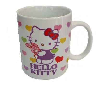 Hello Kitty Kaffeebecher HEART