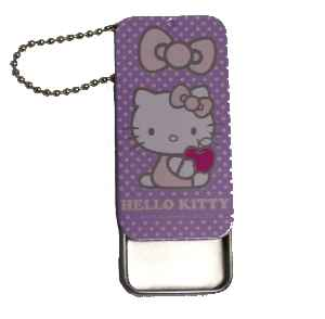 Hello Kitty Pillendose LAVENDEL