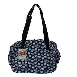 Hello Kitty Tasche Black HEART