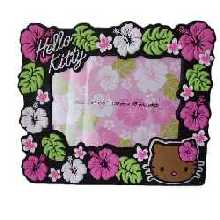 Hello Kitty Bilderrahmen Hibiscus