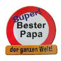 Bester Papa Riesen-Schild
