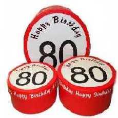 Geschenkschachtel zum 80.Geburtstag