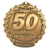 Goldene Hochzeit - Orden 50 Jahre