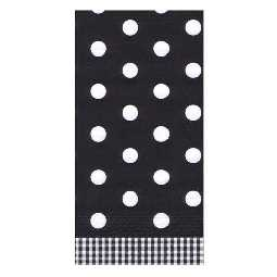 Servietten Black Dots