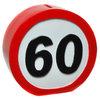 Verkehrsschild Spardose 60