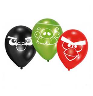 Angry Birds Party Luftballons