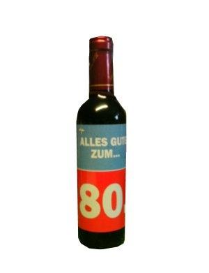 Wein zum 80.Geburtstag