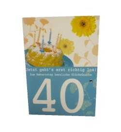 40.Geburtstag - Gl