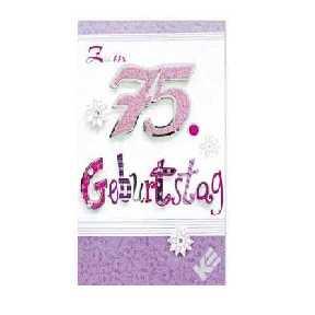 75. Geburtstag - Gl