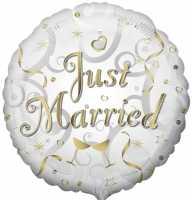 Just Married Folienballon