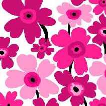 Servietten Flower Power, pink