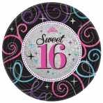 Sweet 16 Pappteller