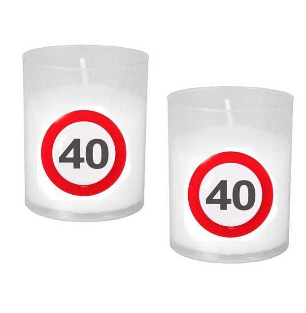 Partylicht zum 40. Geburtstag