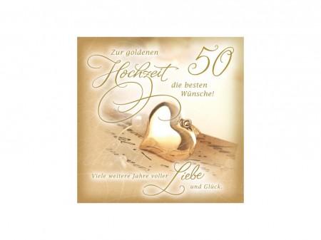 XXL Soundkarte goldene Hochzeit