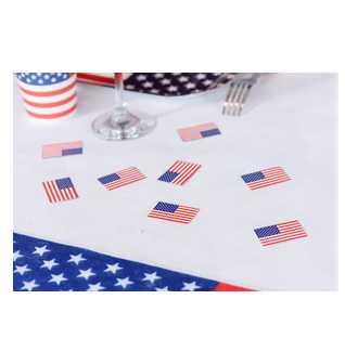 USA Flaggen Papier Konfetti