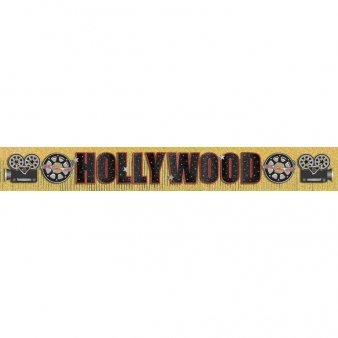 Hollywood Party Banner, 3m