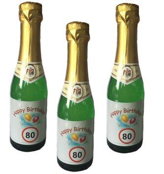 80. Geburtstag Sekt