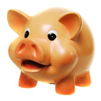 Sparschwein zum 40. Geburtstag