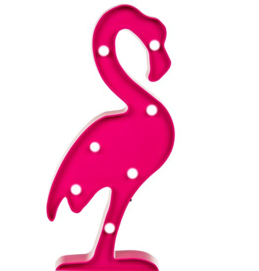 LED Lampe Flamingo