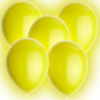 LED Ballons, gelb