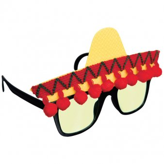 Fun Brille Fiesta Mexicana