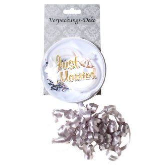 Verpackungs-Deko JUST MARRIED