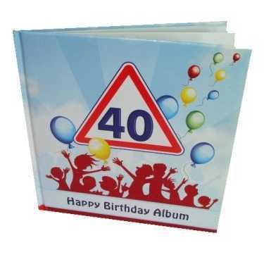 Partyalbum zum 40. Geburtstag
