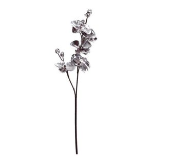 Orchidee, silber