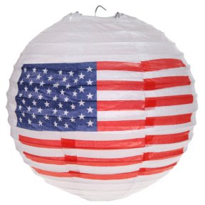 USA Lampion / Laterne im 2er Set