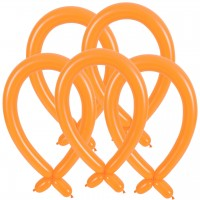 100 Modellierballons - 260Q - Orange