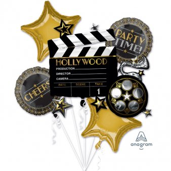 Folienballons Hollywood Party