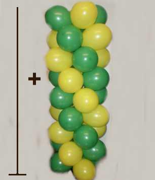 Ballons ule mit ballonst nder im shop - Luftballongirlande selber machen ...