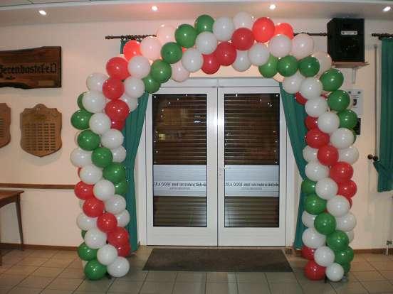 Luftballons im luftballon shop Deko shop hannover